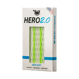 East coast Dyes Hero 2.0 lacrosse mesh neon green striker