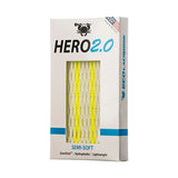 East coast Dyes Hero 2.0 lacrosse mesh neon yellow striker