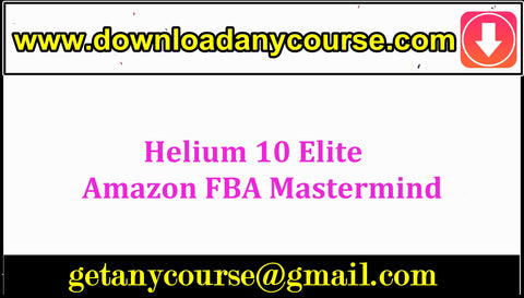 Helium 10 Elite – Amazon FBA Mastermind