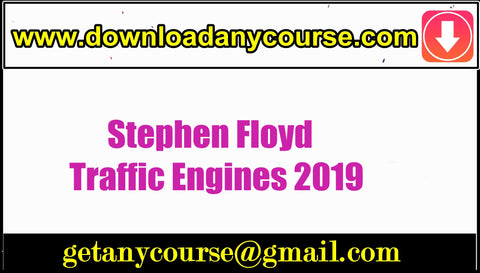 Stephen Floyd – Traffic Engines 2019