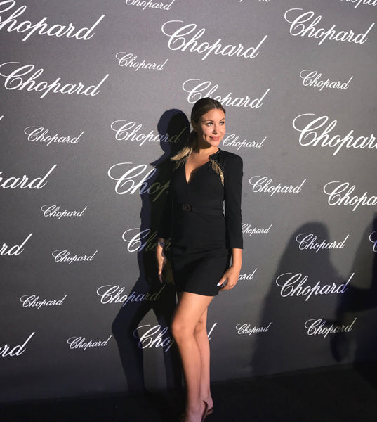 Attending a Chopard event in Sardinia