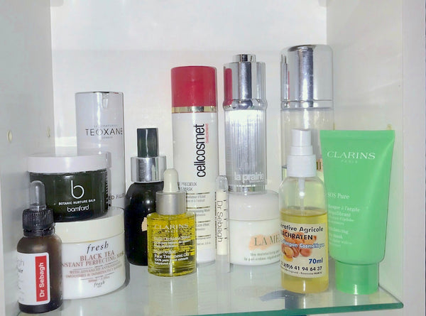 skincare routine beauty products used Youma Leth