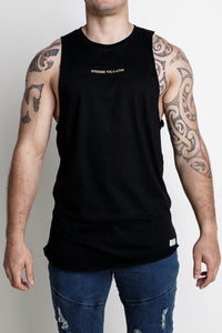 Majestic Singlet - Black