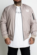 Phase Bomber Jacket - Beige