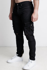 Reaper Denim Jeans - Black