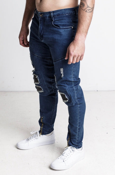 Stray Denim Jeans - Blue
