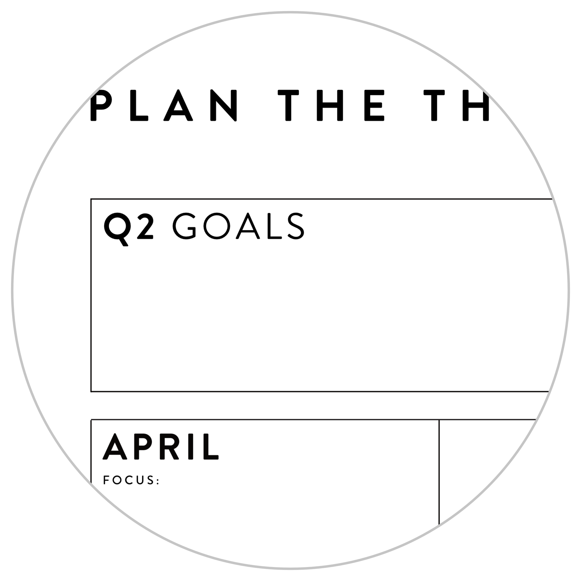 QUARTERLY WALL CALENDAR - Q2 2021 - VERTICAL WITH GREY WEEKENDS