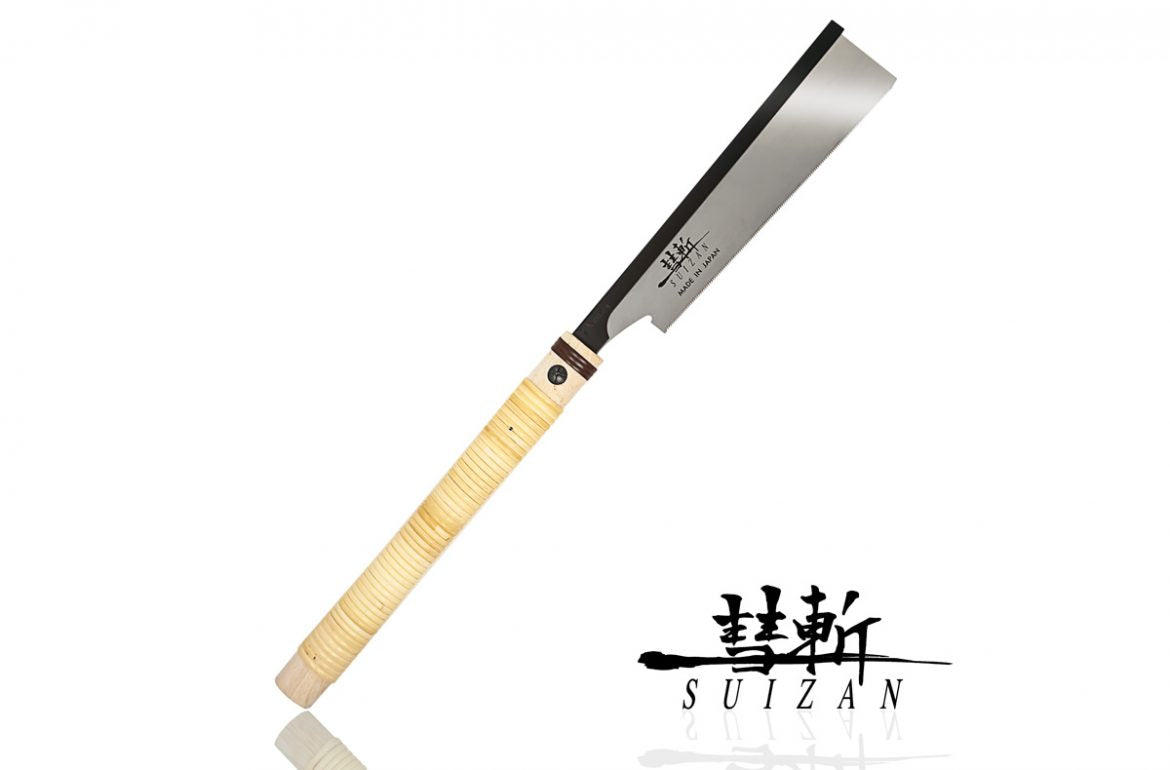 SUIZAN Japanese Saw 8 inch Rip-cut Dozuki pull saw is released