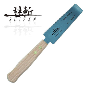 SUIZAN Japanese Flush Cut Trim Saw 5 Inch Hand Saw for Hardwood and Softwood