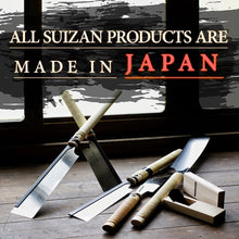 SUIZAN Japanese Saw 10 inch Kataba (Single Edge) Pull Saw for Woodworking