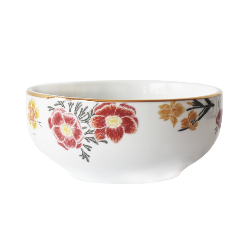 Bowl de porcelana estampa flores vintage - The Goodies Brasil