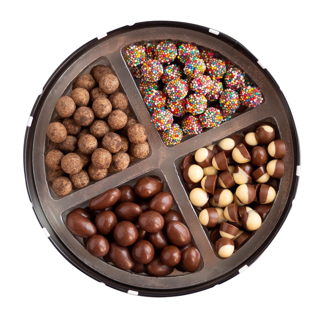 Lata mix de chocolates 400g - The Goodies Brasil