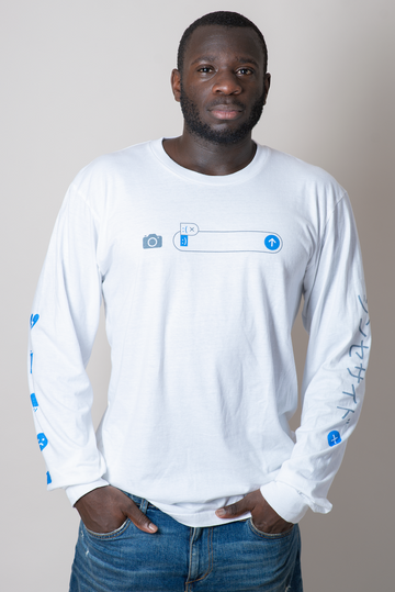Autocorrect White Long Sleeve