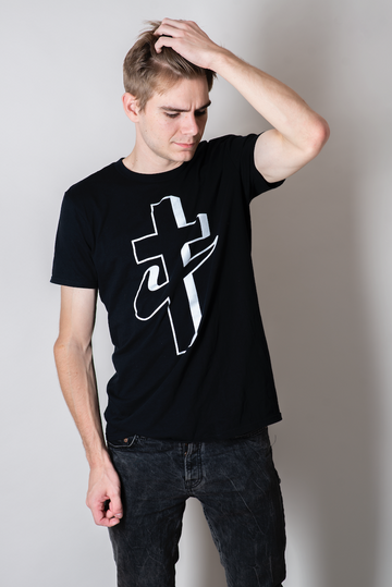 Health Goth Cross Tee