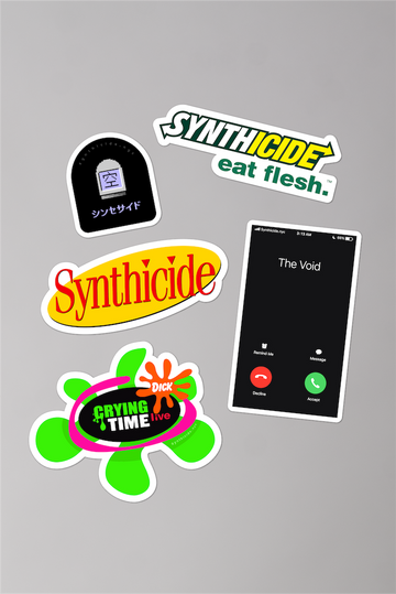Synth Sticker Bundle