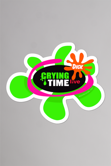 Cry Time Live Sticker