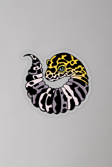 Thicc Ouroboros Color Sticker