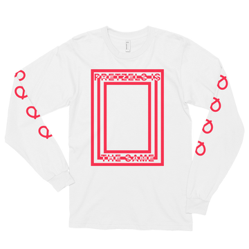 Hannibal's Pretzels White Long Sleeve