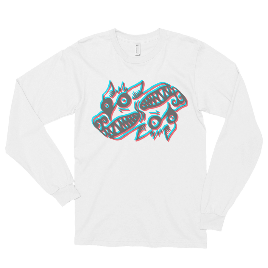 3D Dogmonster Long Sleeve