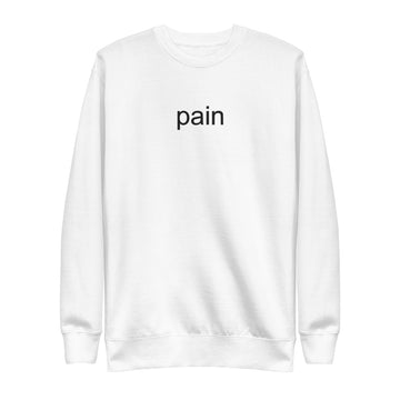 Pain Fleece Pullover