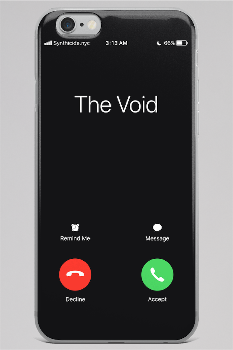 Call of the Void iPhone Case