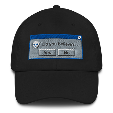 X-Files 95 Black Dad Hat