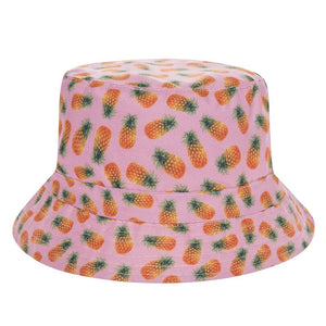 Pink Pineapple Bucket Hat – Infamous Hipster 99ce27b43b5