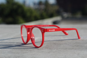 HI-LITES™ DESIGNER - RED / HEARTS