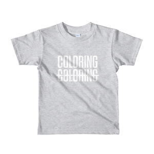 Coloring Not Coloring Kids Tee (7 colors)