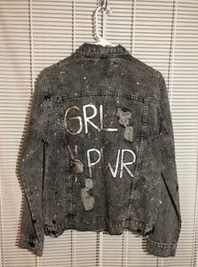 GRL PWR Splatter Paint