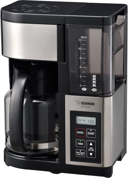 Zojirushi Fresh Brew Plus 12-Cup Electric Hot / Iced Coffee Maker EC-YGC120 NEW