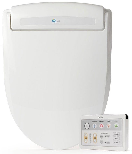 Bio Bidet BB-1000 Supreme Bidet Toilet Seat with Wireless Remote Elongated White