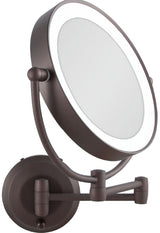 Zadro 1X-10X Next Gen Cordless LED Lighted Wall Mount MakeUp Mirror LEDW410 NEW