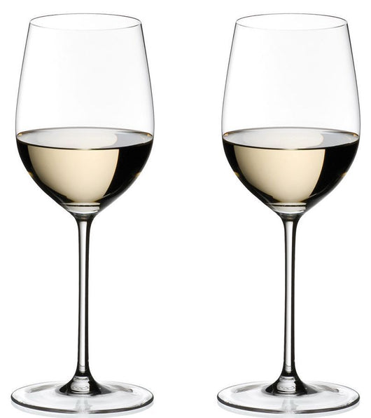 Riedel Sommeliers Chablis Chardonnay 2 Piece Wine Glass Value Set NEW
