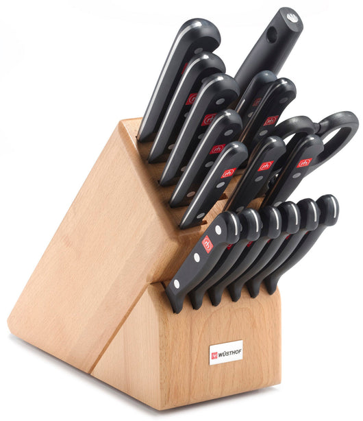 Wusthof Gourmet 18 Piece Promo Block Knife Set 9718 NEW IN Box