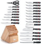 Wusthof Gourmet Twenty Three Piece Block Knife Set 8875 NEW IN Box