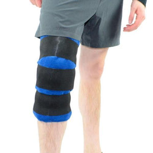 Athletic Knee Ice Pack Wrap - Cool Relief Ice Wraps