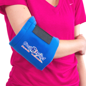Soft Gel Universal Ice and Heat Wrap, Elbow, Thigh, Ankle, Wrist, and More - Cool Relief Ice Wraps