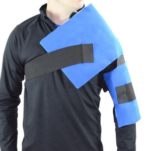 Athletic Flexible Shoulder Ice Wrap - Cool Relief Ice Wraps