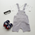 Babylah.com - Kitty Plush Patch Overall with Tee 2-piece Set