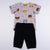 Babylah.com - 2-piece Cute Bear Print Tee & Pants Set