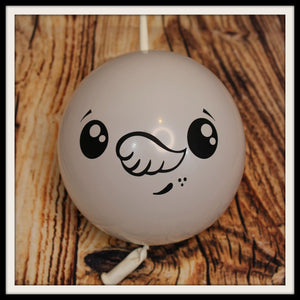 "12"" Snowman Face Printed Balloon"