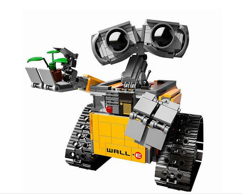WALL E Building Blocks Robot Model
