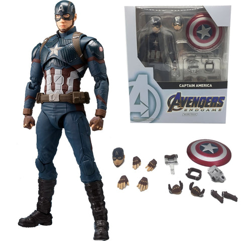 Marvel Avengers 4 Endgame Captain America Action Figure