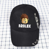 Kids Snapback Adjustable Baseball Hat With Ring
