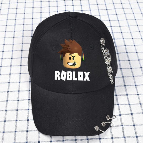 Roblox Snapback Adjustable Baseball Hat With Ring