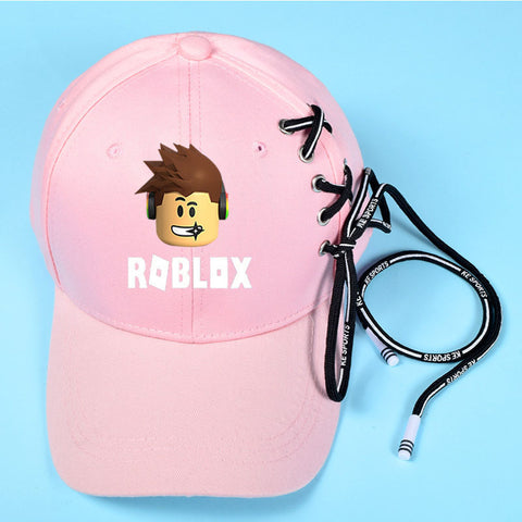 Roblox Adjustable Hat with Laces