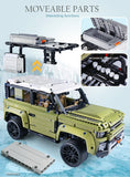 Off-Road Land Rover Defender Toy (Lego Compatible)