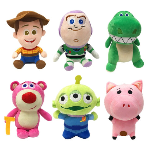 Disney Pixar Toy Story 4 Stuffed Character Set
