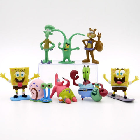 Kawaii SpongeBob Model Set